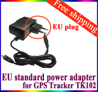 EU European Standard Adapter Charger for TK102 XEXUN TK102 GPS GPRS GSM Tracker