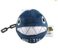 "NEW 5"" Sanei Super Mario Plush Series Plush Doll: Chain Chomp Wholesale"