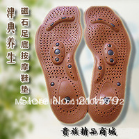 Free Shipping!magnetic therapy magnet health care Foot massage insoles Men/ Women Shoe Comfort Pads 4pcs/lot