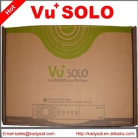 10pcs/lot Vu SOLO Vu+ solo HD Satellite Receiver Linux DVB-2s dvb-s free shipping