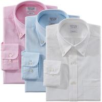 men Business dress shirt  100%cotton long sleeve Oxford   fashion camisa shirts  5color 31025 S M L XL XXL