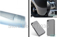 Free Shipping 3D Carbon Fiber Vinyl Film for car full body Decoration With Air Drain Car Styling 13 colors choice,1.52*30M