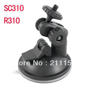 "Holiday Sale 1/4""screw Car Camera Windshield Suction Cup Mount Holder for 027 SD310 R310 Car Black Box Digital Camera Bracket"