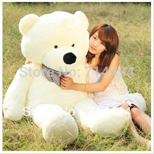 120cm three colors teddy bear coat lowest price of the whole network can be customized birthday gifts Christmas gifts gift(China (Mainland))