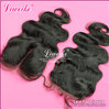 Free Shipping top closure hair swiss lace top closure 4&quot;*3.5&quot; human hair body wave no shedding tangle