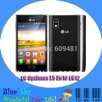 4.0 inch capacitive touch screen original mobiles  LG Optimus L5 E610 E612 unlocked cell phone