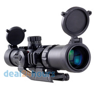 New Aim Sports Recon Series 1.5-4 X 30 Tactical Scope Shockproof Waterproof Free Shipping!