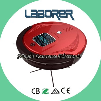 Extremely Lower Noise with virtual wall,  dock station and wireless robot vacuum cleaner