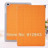 New& Hot sale three fold protective case for mini ipad case cover for ipad mini Free shipping