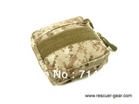 Rescuer Gear,Mini EDC equipment pouch, MOLLE pouch, black/mud/desert multican 3 colors, free shipping
