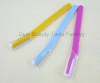 eyebrow shaper 6pcs/lot freeshipping wholesales eyebrow shaver tool shaping razor trimmer,mix color