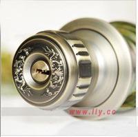 zinc alloy door lock with knob