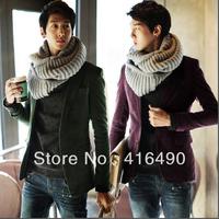 2013 New arrival men's clothing blazer male slim blazer male corduroy blazer male outerwear free shipping