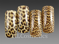 [Free Shipping] 2 Pack Mixed Styles Gold Leopard Nail Art Foil/Sticker/Transfer