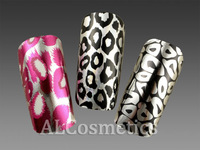 [Free Shipping] 3 Pack Mixed Styles Leopard Pattern Nail Art Foil/Sticker/Transfer