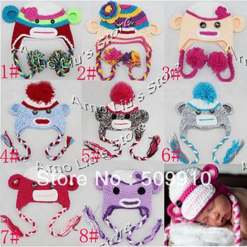 Knitting hats crochet description 6
