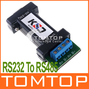 RS232 To RS485 Data Communication Interface Adapter for CCTV PTZ