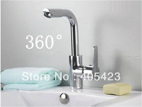 Special offer!! 360 Rotated head ,Kitchen faucet basin faucet hot and cold taps 1pc