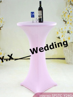 Pink Color Table Cover \Wedding Cocktail Table Cloth Free Shipping