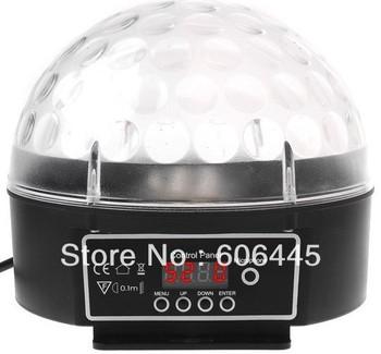 Magic LED RGB Ball Light  DMX 512 Control Music Audio Sensitive,Disco DJ Party Stage Lighting