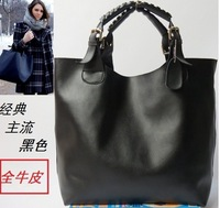 Genuine Leather Women Handbag Guaranteed 100% Mulitfunctional Tote Fashion Ladies Bags+ NEW  Discount Wholesale Best Selling