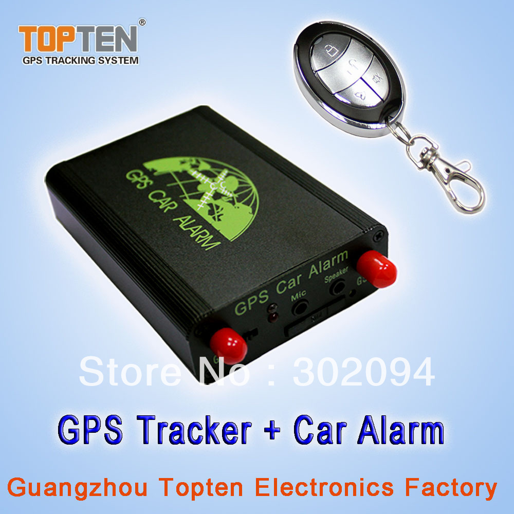Two-way GPS Car Alarm with remote controller TK220S(China (Mainland))
