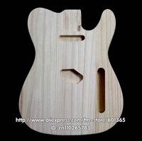 platane wood  electric guitar body electric guitar kit kits platane wood  tele style
