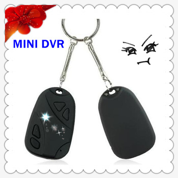 Car Remote Key Mini Hidden Cam Recorder DVR Micro Camera DV 720 x 480 image 1280 X 1024 DA0149