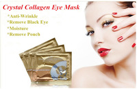 Free Shipping 60pairs/lot  Crystal Collagen Eye Mask Moisture/ Remove black eye mask Rich in Vitamin collagen best quality