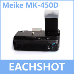 MeiKe MK-450D, BG-E5/BP-500D Battery Grip for Canon 450D Rebel Xsi Kiss X2 500D Rebel T1i Kiss X3 1000D Rebel XS Kiss F(China (Mainland))