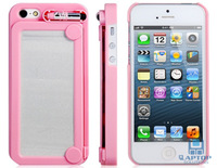 iFOOLISH Retro Painting Board Case Magic Drawing Cover for iPhone 5  + Free Shipping + Pink