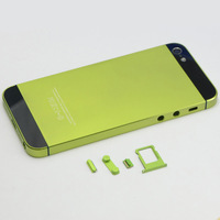 1PCS Replacement High Quanlity Back Metallic Housing Cover Fit For iPhone 5 5G C1112