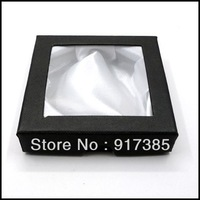 1X JB001 Jewelry Wedding Storage Organizer Packing Black Box Case Fit Bracelet Free Shipping