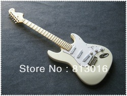China guitars factory musical instrument NEW yngwie malmsteen stratocaster Electric Guitar with brown hardcase!FREE SHIPPING!(China (Mainland))