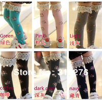 5pcs/lot children&#39;s stocking girl stockings baby socks baby stocking leggings socks baby clothing chillren&#39;s wear free shipping