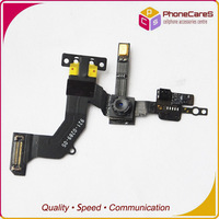 1 pcs/lot retail. 100% original front camera with flex for iPhone 5 free shipping by HongKong Post