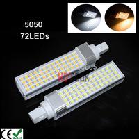 11W LED Corn Light G24 Bulb Lamp Lighting 5050 SMD 52-leds 220v indoor  lamparas LED Bombillas badroom licht for home CE RoHS