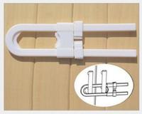 Hot Sale multifunctional safety locks U-cabinet locks baby's safety locks baby care products 12pcs/lot Free shipping