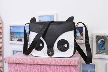 Wholesale Womens Stylish Retro Pu Leather Hobo Shoulder Bag Messenger Handbags Owl Fox School Tote Handbag 5 Colors 3pcs/lot