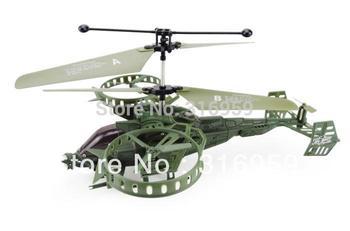 New Avatar Gunship super ruggedness infrared I/R RC helicopter w/ Gyro USB RTF RC Toy