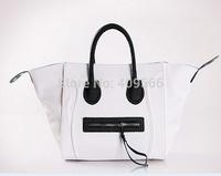 2014 New Fashion Hot Selling Smiley  Large Color Fashion Women's Handbag Pu Leather Shoulder Bags Women Handbag  Free Shipping