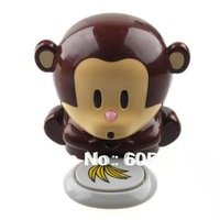 2 pcs Monkey  Portable Blow Nails  Fingernail Dryer Nail Salons Stoving Implement