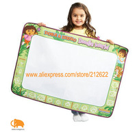 Free shipping baby Doodle Mat Big Size(90*62cm)Spinmaster Aquadoodle Dora and Diego Doodle World Baby Drawing Toys Set