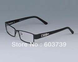 NEW ARRIVING + free shipping Brand Bo.1143 Full-rim spring hinge black color optical eyeglasses spectacle frame eyewear glasses(China (Mainland))
