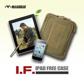 2012 Brand IPAD CASE Unisex IPAD Shouler Bag YKK Zipper COATS Thread Cordura Nylon Military Quality IPAD Handbag FREE SHIPPING
