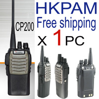 Iradio cp200 PMR walkie talkie best midland quality commercial way radio station with program cable for kenwood 3207 connector