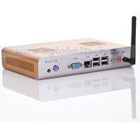 mini desktop computer using intel N270 1.6GHz, 1G RAM, 32G SSD pc wie mac mini for 3d games atom mini pc wholesale price