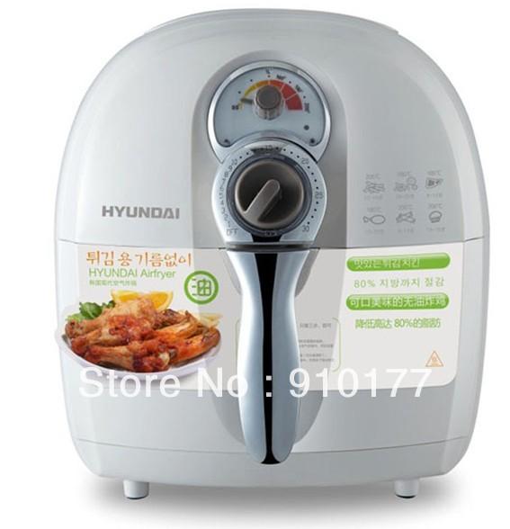 Hyundai Modern Air Fryer No Oil Electric Frying Pan Fries