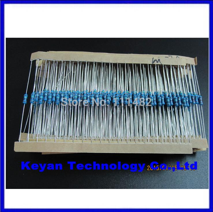 Резистор 600pcs 1% 1/4