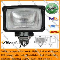 "Super bright !!! Top quality 1pcs 35w 6"" Tractor Vehicle ATV SUV HID Work Light Flood Beam 9-32v"